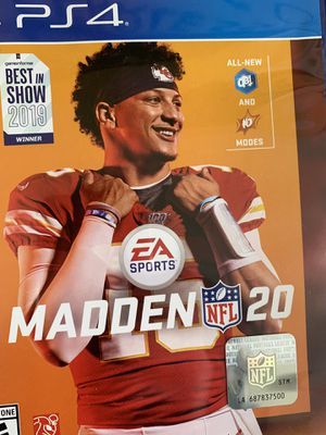 Madden NFL 20 and Devil May cry 5 open box never used . Ps4 for Sale in Los Angeles, CA