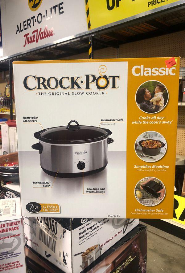 Crock Pot 7 QT. Stainless Steel