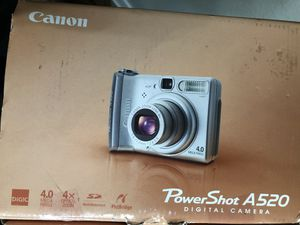 Canon PowerShot A520 Camera; only took 1 photo with it; new open box for Sale in Laguna Niguel, CA