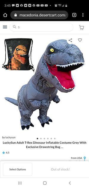 Dinosaur costume for Sale in Bloomington, CA