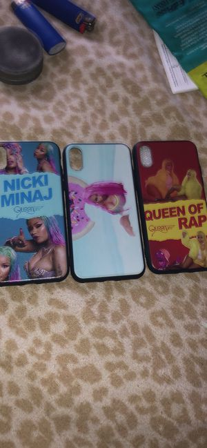 Custome IPhone XS Nicki Minaj cases for Sale in Croydon, PA