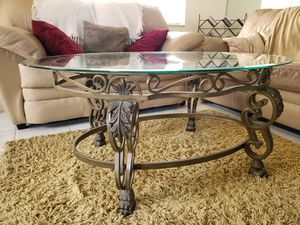 Matching coffee and end glass tables for Sale in Miami, FL