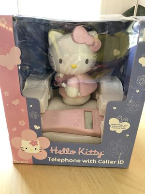 Hello Kitty telephone with caller ID for Sale in Bellevue, WA