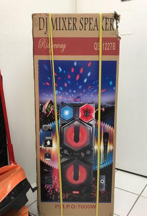 Brand New 7000 watts DJ mixer speaker for Sale in Woodbridge, VA