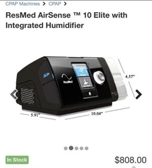 ResMed AirSense 10 Elite for Sale in Yonkers, NY
