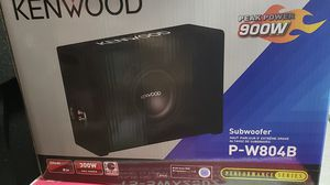 "8"" KENWOOD subwoofer BOX 900 watts for Sale in Chula Vista, CA"