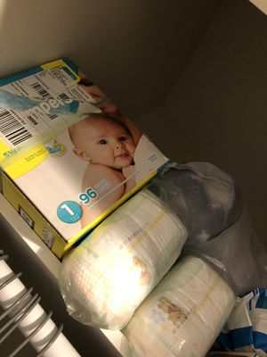 Diapers Size 1 for Sale in Bellwood, IL
