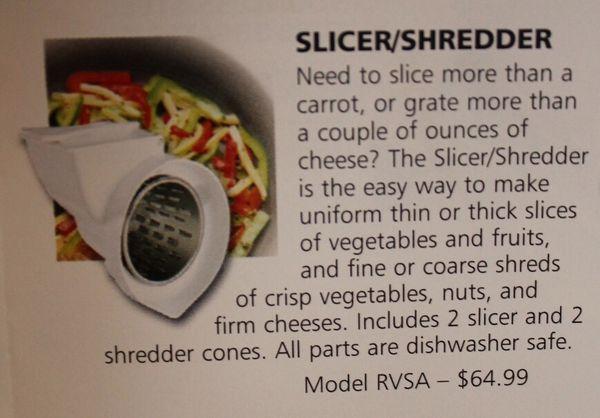 KitchenAid Slicer & Shredder Stand Mixer Attachment