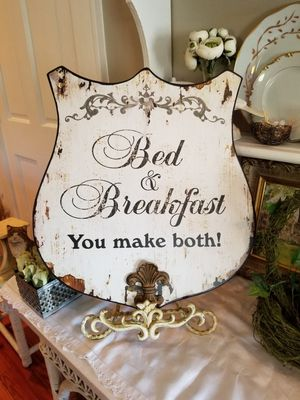 Charming Bed & Breakfast Sign for Sale in Norfolk, VA