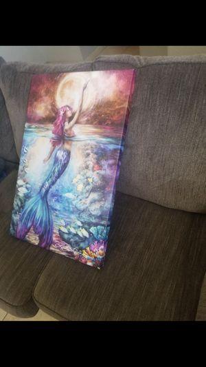 Mermaid Picture for Sale in Modesto, CA