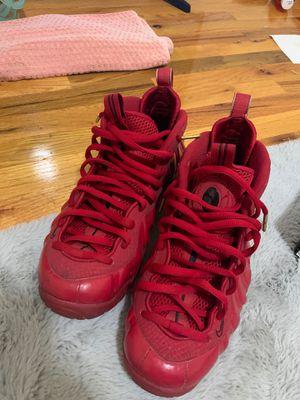 Red nike foamposite 1 for Sale in Ridgefield Park, NJ