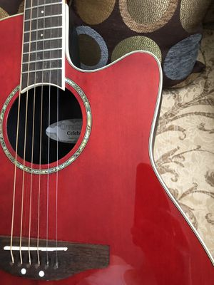 Ovation Celebrity Acoustic Electric Guitar for Sale in Bellflower, CA