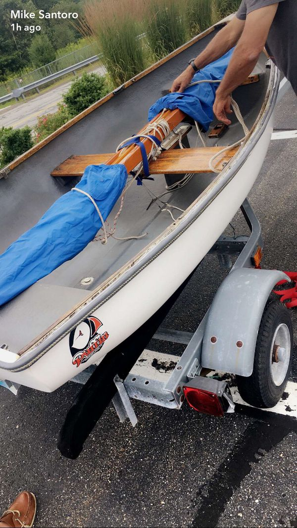 Puffin 8.5 Sailboat and Trailer