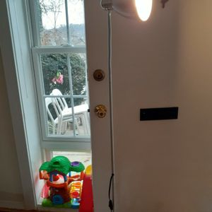 Lersta IKEA Floor/reading lamp With Bulb Included, Color Silver for Sale in Alexandria, VA
