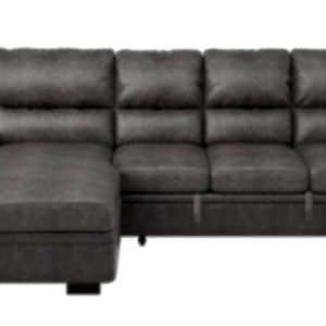 Emerald Homelegance Michigan Sectional with Sleeper, Storage & Left-Hand Chaise for Sale in McMinnville, OR