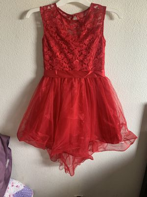 Red Christmas Dress sz 8 for Sale in Anaheim, CA