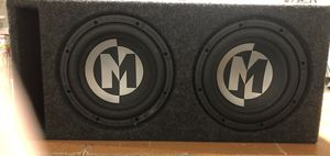amplifier, subwoofer and box for Sale in Arlington, VA