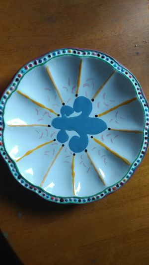 Painted ceramic dish for Sale in Searsport, ME