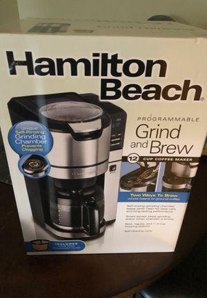 Hamilton Beach Grind and Brew Coffee Maker for Sale in Dearborn Heights, MI