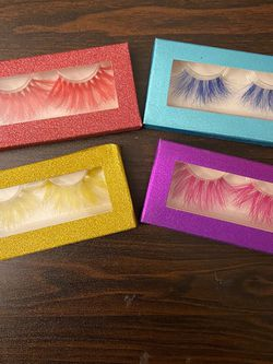 Eyelashes Colorful for Sale in Oakland,  CA