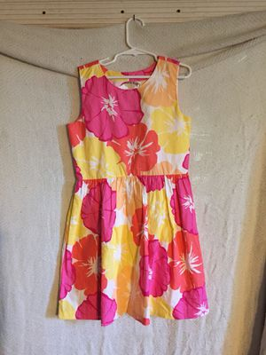Gymboree girls dress flowers size 8 see picture to double check size for Sale in New Brighton, PA