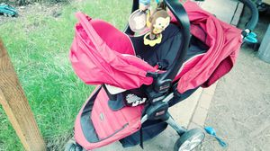 britax stroller and car seat with base (reduced) $75 for Sale in Shady Cove, OR