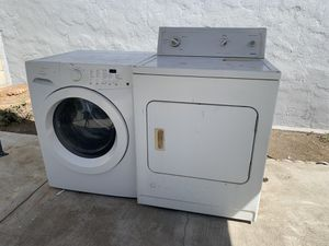 Washer and Dryer (for parts/electric dryer might work) for Sale in CTY OF CMMRCE, CA