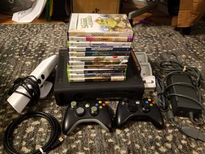 120 gig xbox360 +accessories +10games for Sale in Tampa, FL