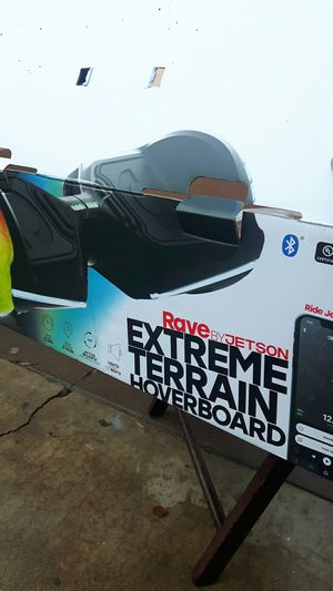 Rave by jets on,extreme terrain hover board. for Sale in Phoenix, AZ