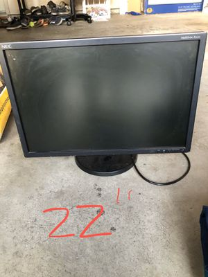 "22"" computer monitor. for Sale in Danville, CA"