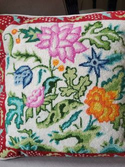 Handmade Needlepoint Pillow for Sale in Brentwood,  TN