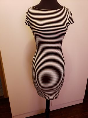 White and black Stretchy dress for Sale in Dearborn, MI
