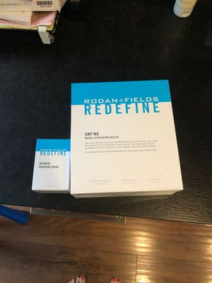 Brand new in box Rodan and fields micro exfoliating roller kit with intensive renewing serum. Retails $300 for Sale in San Carlos, CA