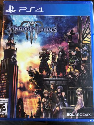 Kingdom of hearts 3 for Sale in Fairfax, VA