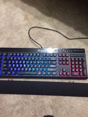 Corsair K55 Gaming Keyboard for Sale in Poplar City, IL