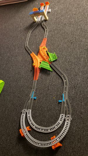 Fisher-Price Thomas & Friends TrackMaster, Thomas & Percy's Railway Railway race set for Sale in Nutley, NJ
