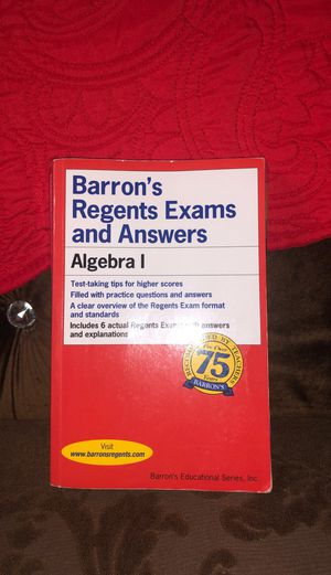 Barrons Regents Algebra 1 for Sale in The Bronx, NY