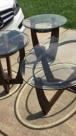 Beautiful Coffee Table Set Of 3 for Sale in Grand Prairie,  TX