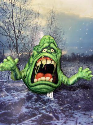 """Ghostbusters Slimer boogy man monster plush 11"""". for Sale in Bellflower, CA"""