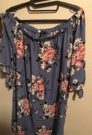 Blue floral Dress for Sale in Wenatchee, WA