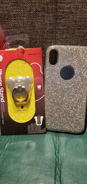 Glitter case for iPhone X no delivery for Sale in South Gate, CA