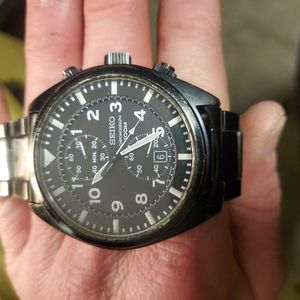 Seiko Chronograph Watch for Sale in Tacoma, WA