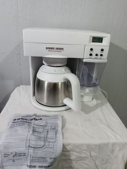 Black & Decker Spacemaker ODC400 Under Cabinet 10 Cup Coffee Maker Vintage for Sale in Merritt Island,  FL