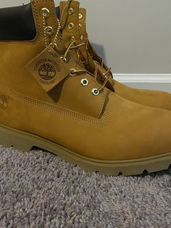 Timberland 6-Inch W/Padded Collar Waterproof Wheat Men's Boots 18094 SZ 15M for Sale in Austell,  GA