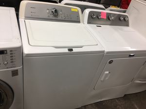 Maytag top load washer and new dryer set in excellent condition for Sale in Baltimore, MD