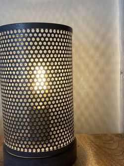 Vintage Metal Can Lamp With Edison Light Bulb for Sale in San Francisco,  CA