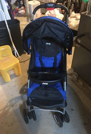 Jeep Free Hand 1-hand Fold Baby stroller for Sale in Hyattsville, MD