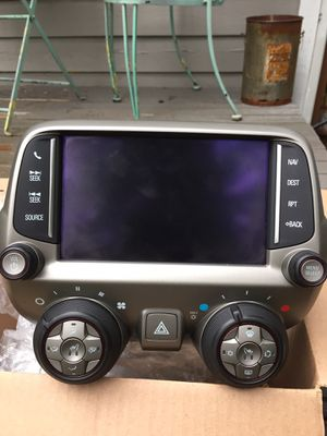 Radio bezel out of a 2015 camaro for Sale in North Bend, WA