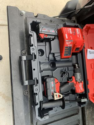 Milwaukee Drill Two Batteries and Charger all new for Sale in Manteca, CA