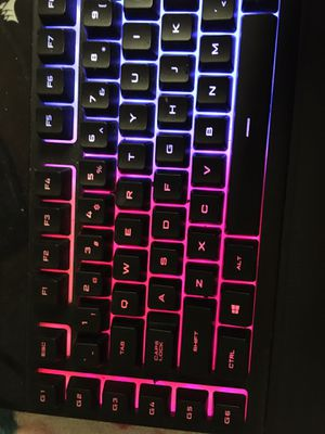 Rgb Corsair keyboard for Sale in Peoria, IL